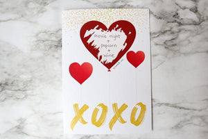 Greeting Card with Secret Personalized Gift or Message Scavenger Box