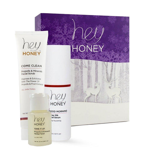 Hey Honey Essentials. Includes Come Clean, Good Morning and Tone It Up.