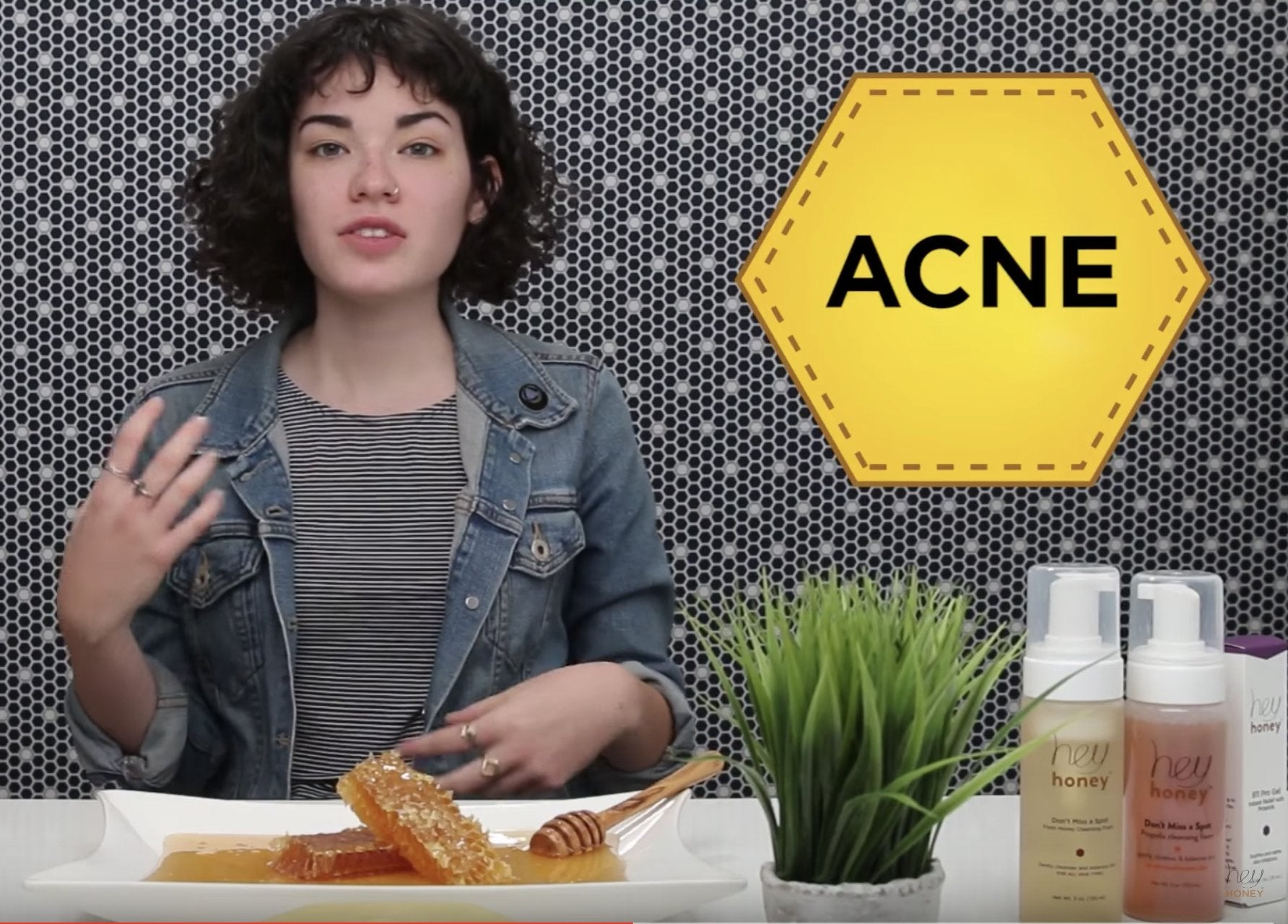 2-steps acne treatment with propolis