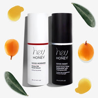 DAY & NIGHT DUET - Hydrating Facial Honey Treatment Set - Hey Honey Skin Care