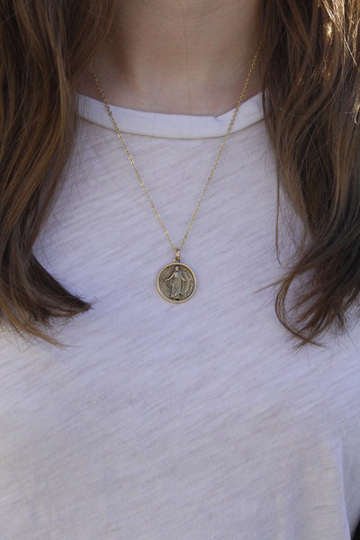 "18"" Press Forward Necklace - Gold"