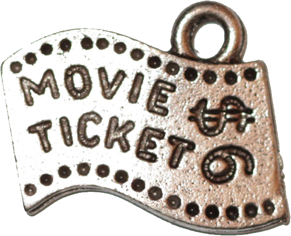 Movie Ticket - Silver