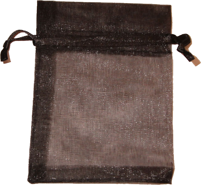 Bag, Organza - Black
