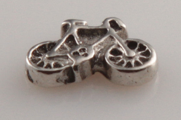 Bicycle in Silver - Mini Charm