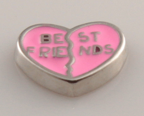 Best Friends in Pink - Mini Charm