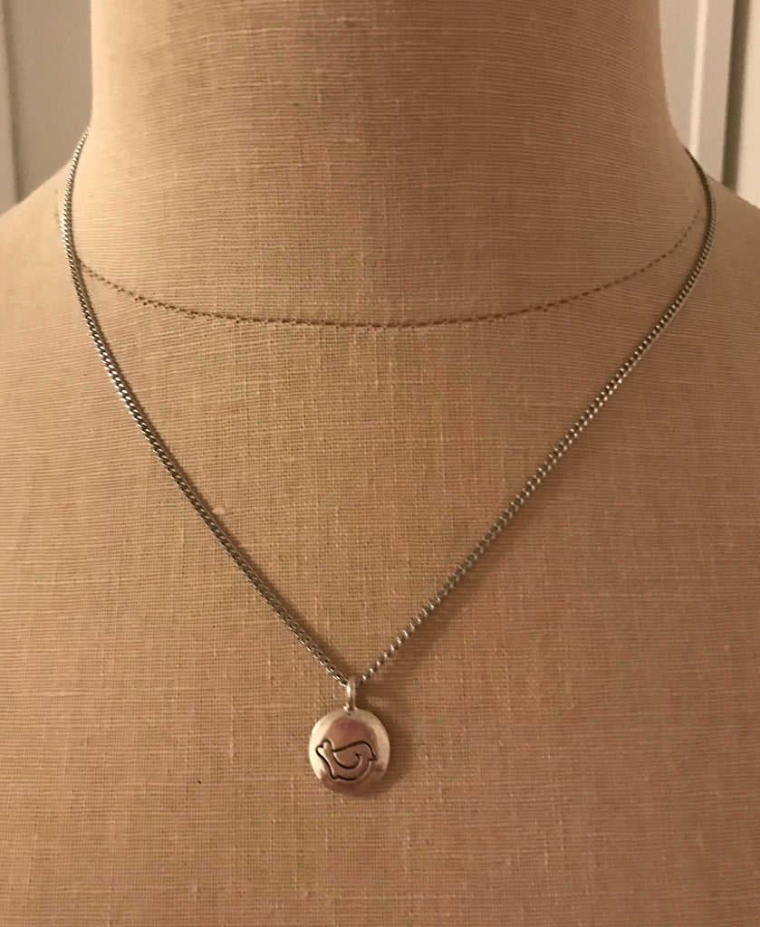 "2018 ""Peace In Me"" Necklace - Silver"