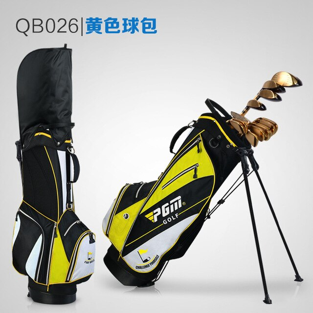 Youth and  Ladies Lightweight Nylon Golf Bag Waterproof 14 Clubs Detachable Straps Hood 6 Colors