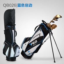 Load image into Gallery viewer, Youth and  Ladies Lightweight Nylon Golf Bag Waterproof 14 Clubs Detachable Straps Hood 6 Colors