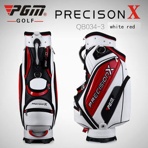 PGM Golf Sport Package Standard Bag 2019 Style Men Cart Bag Professional Ball Staff Bag With Cover Snake Lines Waterproof PU New