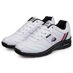 Men's Golf Shoes PU Leather non-slip wear-resistant breathable Cotton lining lace up golf shoes