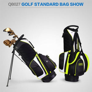 MEN'S Golf Bag Nylon Waterproof Stand alone Legs large Capacity High Quality 3 colors