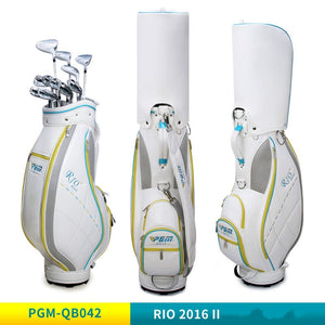 PGM Golf Bag Lady's Ultra-light Version Of High-capacity Portable Golf Bag