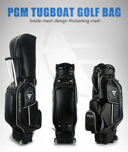 Load image into Gallery viewer, PGM Golf Cart Bag Retractable Standard Ball Package Waterproof Travel Bags Can Hold 14 Clubs With Wheels D0085