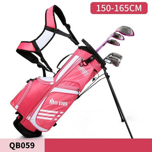 PGM Boys Girls Ultra Light Golf Rack Bags Big Capacity Golf Packages with Base Stapless Can Hold 3 Clubs D0795