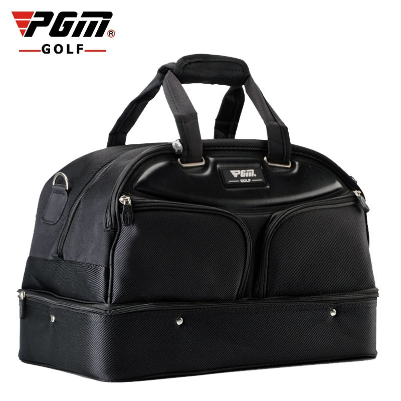 PGM Golf Clothing Bag Portable Waterproof Nylon Golf Bag Double Layer Sports Handbag Gym Fitness Travel Apparel Bag