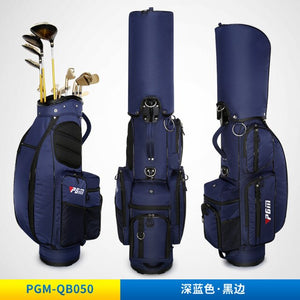 Ultralight! PGM Men Golf Standard Ball Package Pure Color Women Multi-function Ball bag High capacity Can Accommodate 13 Clubs