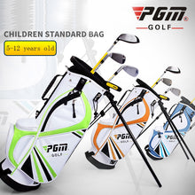 Load image into Gallery viewer, PGM New Children's Golf Standard Bag 5-12 Years Old Multi-function Bracket Bag U-shaped Shoulder Strap Comfortable Lightweight