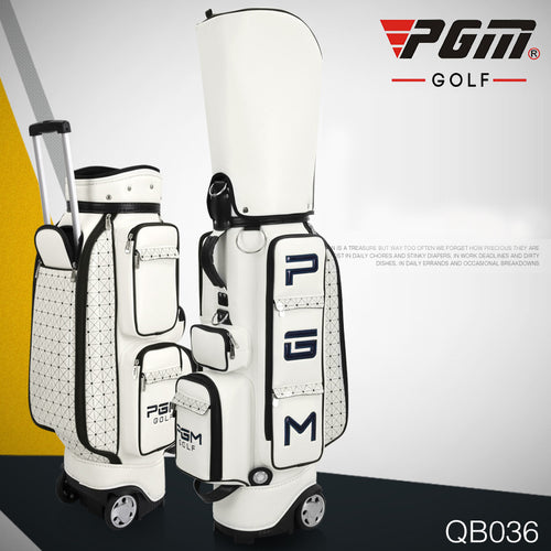 PGM Professional Golf Bag Male Womens Tug Standard Bag Large Capacity Ball Team Customized Driving Range Portable High Quality