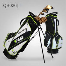 Load image into Gallery viewer, PGM Golf Stand Bag Holder Rack Golf Club Bags Set Outdoor Sport Cover Gun Bag Waterproof Pack Trolley Package D0068