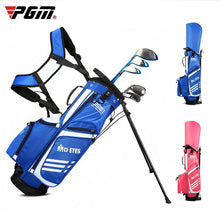 Load image into Gallery viewer, Children Pgm  Golf Standard Bag Ultra Light Golf Bag Boys And Girls Big Capacity Bracket Ball Package Can Hold 3 Clubs D0795