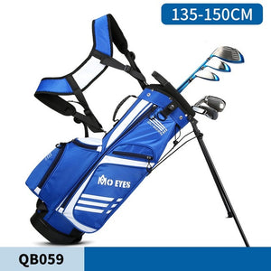 Children Pgm  Golf Standard Bag Ultra Light Golf Bag Boys And Girls Big Capacity Bracket Ball Package Can Hold 3 Clubs D0795
