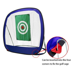 Foldable Golf Practice Net Golf Indoor Outdoor Chipping Pitching Cages Portable Golf Practice Training Aids Golf Accessories hs