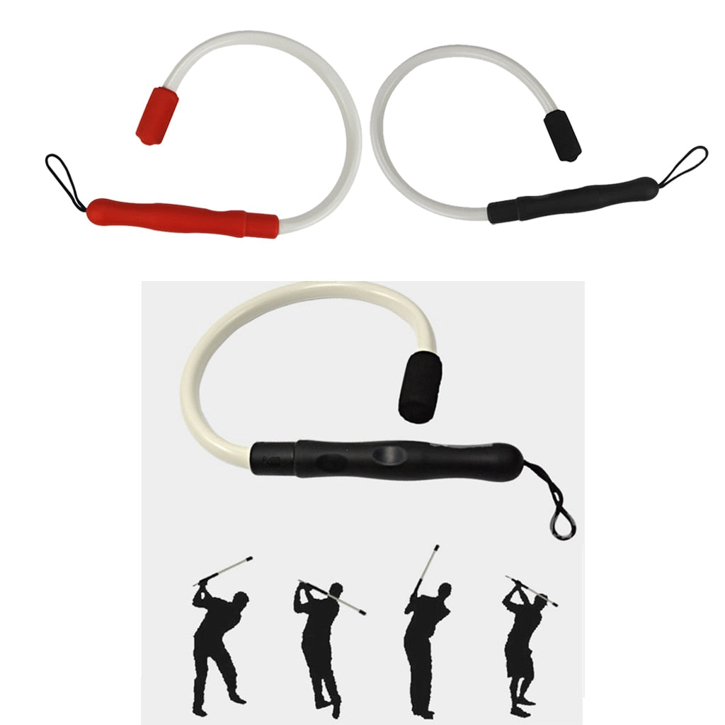 Golf Swing Trainer Training Aids - for Improved Rhythm Flexibility Balance Tempo and Strength Golfer Gift Club Accessories