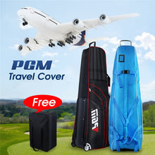 Load image into Gallery viewer, Pgm Aviation Bag Golf Package Waterproof Travel Plane Bags Aircraft Thickening Folding Pad Golf Cover Bag With Wheels D0073