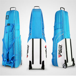 Pgm Aviation Bag Golf Package Waterproof Travel Plane Bags Aircraft Thickening Folding Pad Golf Cover Bag With Wheels D0073