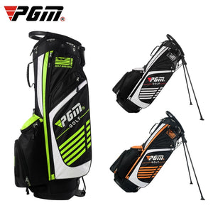Pgm Portable Golf Stand Bag Golf Bags Men Women Waterproof Golf Club Set Bag With Stand 14 Sockets Outdoor Sport Cover Package
