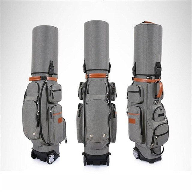Multifunctional Golf Standard Bag Adjustable Telescopic Bag Golf Caddy Viation Bags High Capacity Golf Cart Package D0086