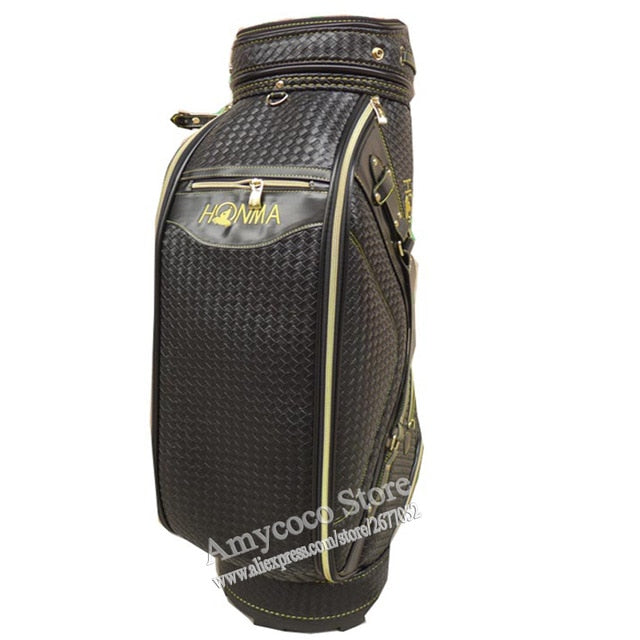 New Cooyute Golf bag High quality PU Golf clubs bag in choice 9.5 inch HONMA Golf Cart bag Free shipping
