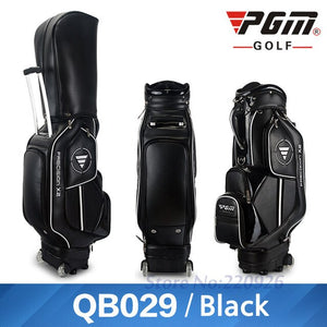 GOLF CART BAG STANDARD 14 CLUBS for MEN and WOMEN WATERPROOF PU THREE COLORS