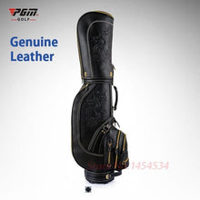 Load image into Gallery viewer, Professional Golf Bag leather waterproof Cart Bag 5 Club sections 14 clubs with Cover 2 types