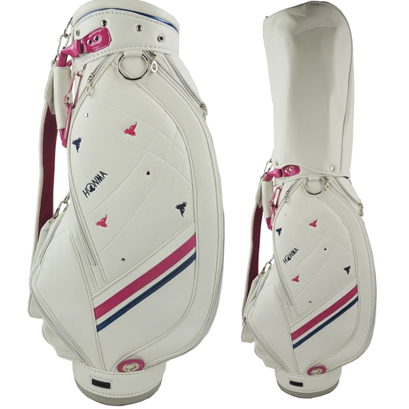 WOMEN'S Golf Bag high Quality PU Cart Bag Waterproof Cover order soon