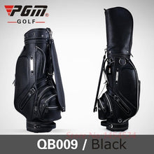 Load image into Gallery viewer, Women's Tall Golf Bag Leather with Pu Waterproofing Cart Bag 126CM 5 Slots 14 Clubs Black/Brown