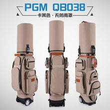 Load image into Gallery viewer, Authentic Brand Multifunctional Golf Standard Bag Wheel Golf Caddy Viation Bag Men Pattern Bracket Ball Package Pulley Golfbag