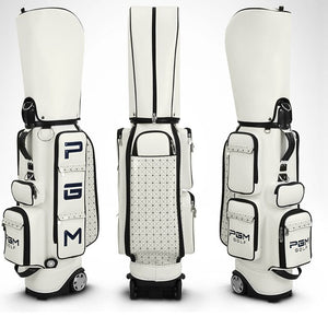 Women's Golf Bag with Bag Cap Hold 14pieces Clubs with One Free Golf Clothing Shoes Bag