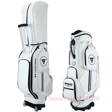 Load image into Gallery viewer, Sport Women's Men's Golf Bag 14 clubs 4 holes Waterproof PU with wheels cover 3 colors