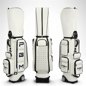 Pgm Golf Standard Bag PU Waterproof Golf Bags Multi-Purpose Aviation Packages Large Capacity Travel Bags With Wheels D0082