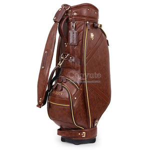 New Cooyute Golf bag Maruman Majesty PU Golf Cart bag in choice 9.5inch Clubs Standard Ball bag  Free shipping