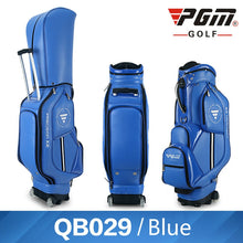 Load image into Gallery viewer, MEN'S Golf Bag Nylon Leather PU Waterproof Standard Bag Wheels 14 clubs Travel Bag 3 colors