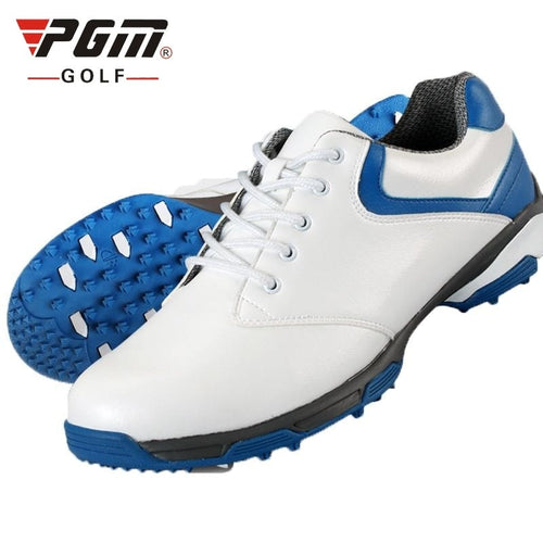 Mens Golf Shoes and Outdoor Sport Shoe Leather Light Anti-Skid Comfortable Cotton Lining AA10092