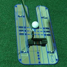 Load image into Gallery viewer, Golf Putting Alignment Mirror Golf Alignment Training Aid Lightweight Swing Practice Trainer Golf Practice Accessories B81802