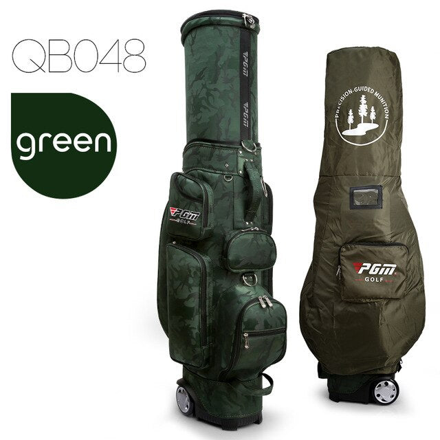 2019 New Pgm Golf Bags Standard Bags Waterproof Nylon Men Women Travelling Bags Camouflage Big Capacity Package D0481