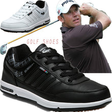 Load image into Gallery viewer, Men's Golf Shoes Waterproof Anti-Skid Male Sport Sneakers Breathable Big Size 46