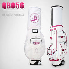 Load image into Gallery viewer, WOMEN'S Golf Bag Microfiber Waterproof Wheels Professional Bag with Cover