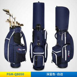 Pgm Multifunctional Golf Standard Ball Bag With a Password Lock Retractable Stand Caddy Bags Thermostatic Bag D0479