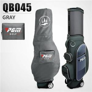 Waterproof Golf Travel Wheels Standard Bags Retractable Stand Caddy Bag Complete Golf Set Bag Nylon Golf Cart Bags D0480
