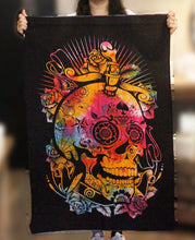 Load image into Gallery viewer, Cotton Tapestry  | Day of the Dead